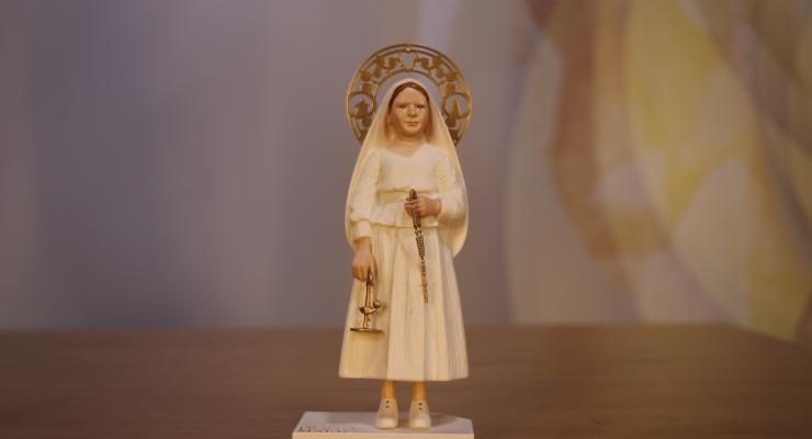 Santuário lança réplica da escultura de Santa Jacinta Marto