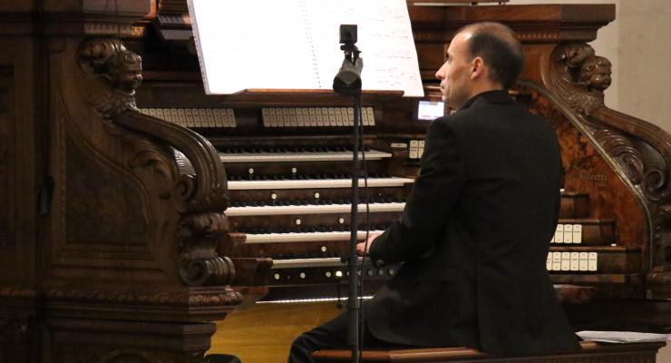André Bandeira foi o organista convidado para segundo concerto do Ciclo de Órgão do Santuário