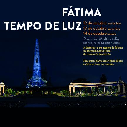 "Video Mapping ""Fatima - Time of Light"" closes celebration of the Centennial"