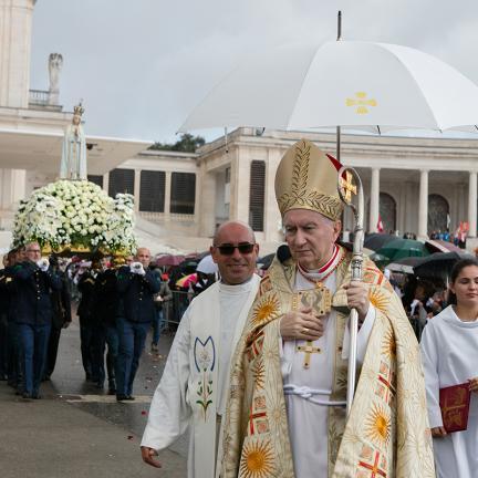 """Cardeal Pietro Parolin apresenta Nossa Senhora como exemplo a seguir nos momentos de """"dúvida e de dor"""""""