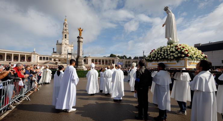 """Cardeal Patriarca pede """"mais oração e mais missão"""" aos peregrinos"""