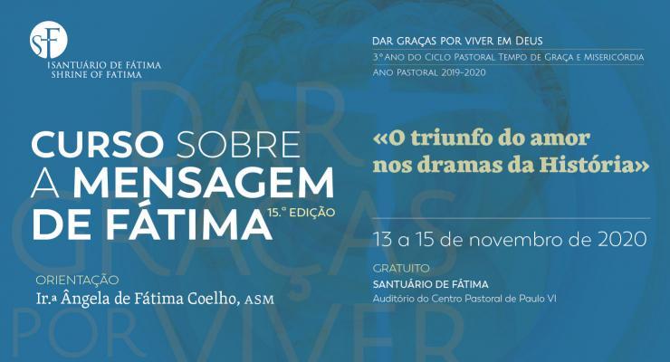 Santuário de Fátima promove a 15.ª edição do Curso sobre a Mensagem de Fátima