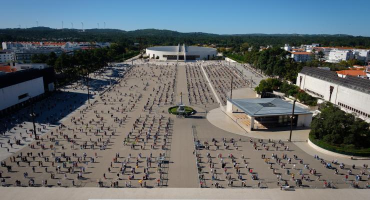 Celebrações de maio podem receber 7.500 peregrinos