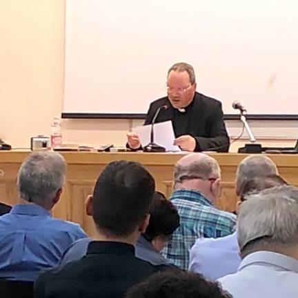 Reitor do Santuário falou em Roma sobre a dimensão profética de Fátima