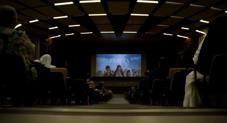 Santuário acolheu esta tarde a antestreia nacional do filme Fátima