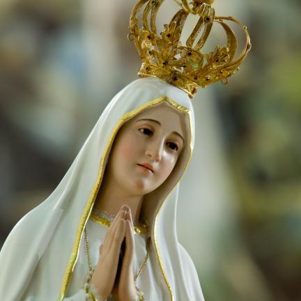 Imagem oficial da Virgem de Fátima peregrina pela primeira vez até à Nicarágua em janeiro de 2020
